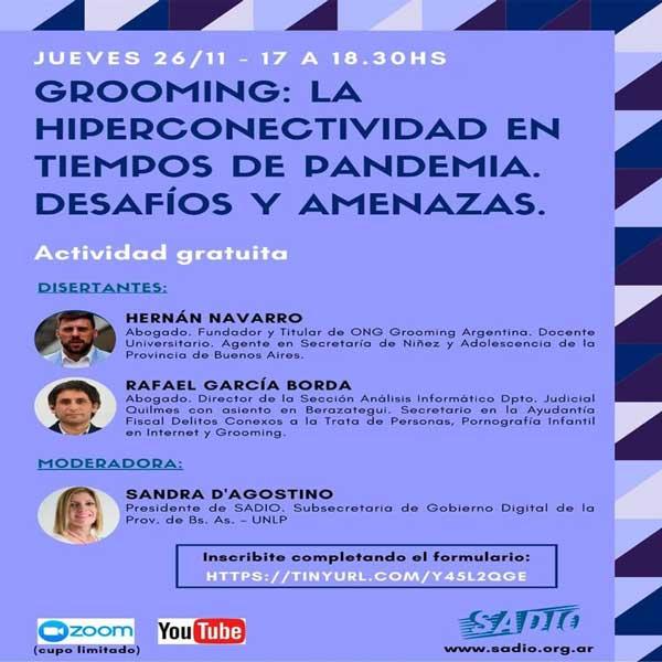 Grooming: La hiperconectivdad en tiempos de pandemia. Desafíos y amenazas