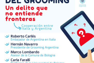 Grooming Argentina en Europa