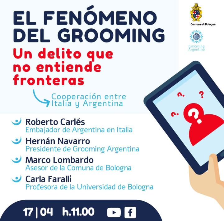 GROOMING ARGENTINA DESEMBARCA EN EUROPA